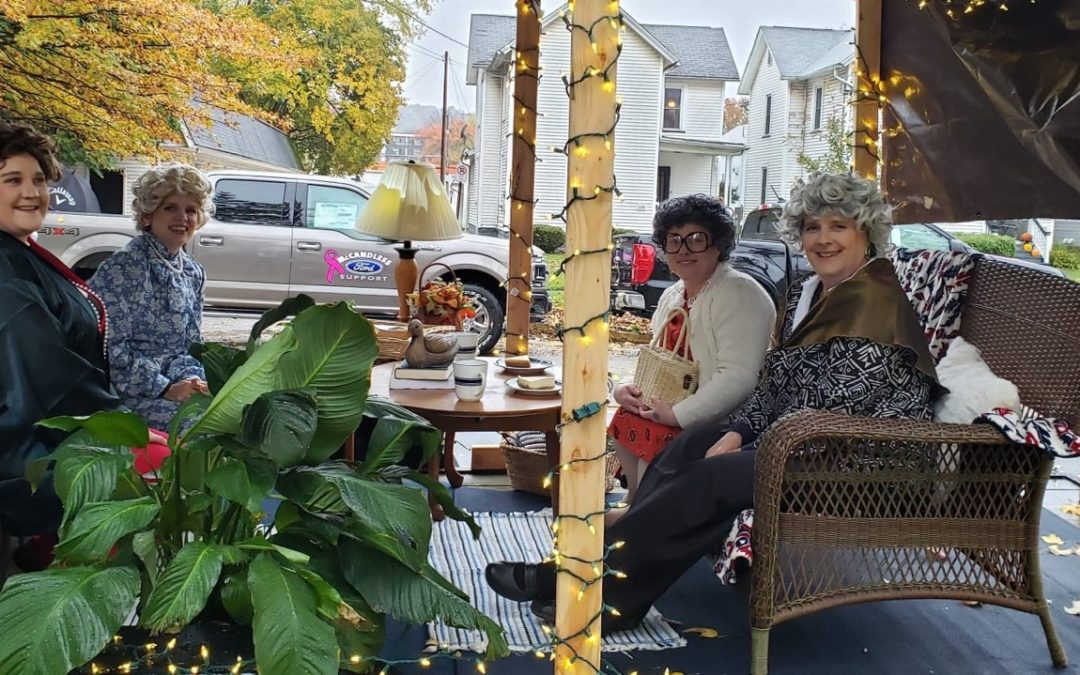 Golden Girls Halloween Float 2019